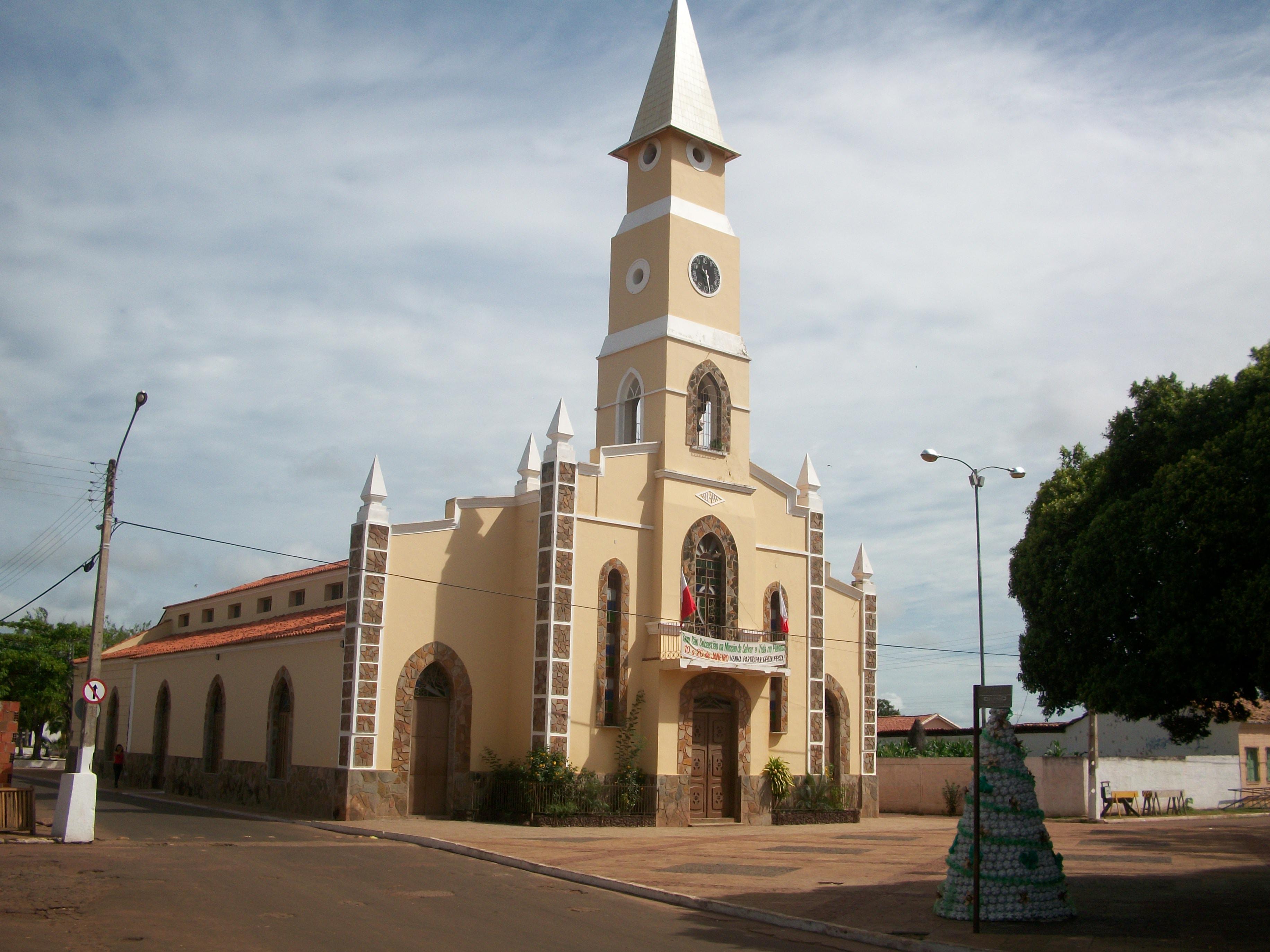 Igreja é tombada e Arquidiocese é proibida de fazer reforma em Esperantina