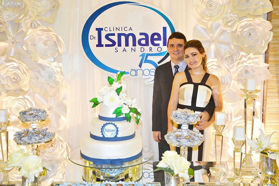 Clínica Drº Ismael Sandro celebra festa de 15 anos de existência em grande estilo