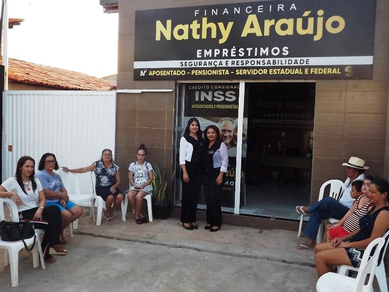 Inaugurada em Esperantina a Financeira Nathy Araújo Empréstimos