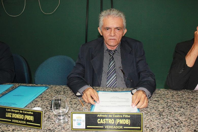 Vereador Castro apresenta indicativos na Câmara Municipal de Esperantina