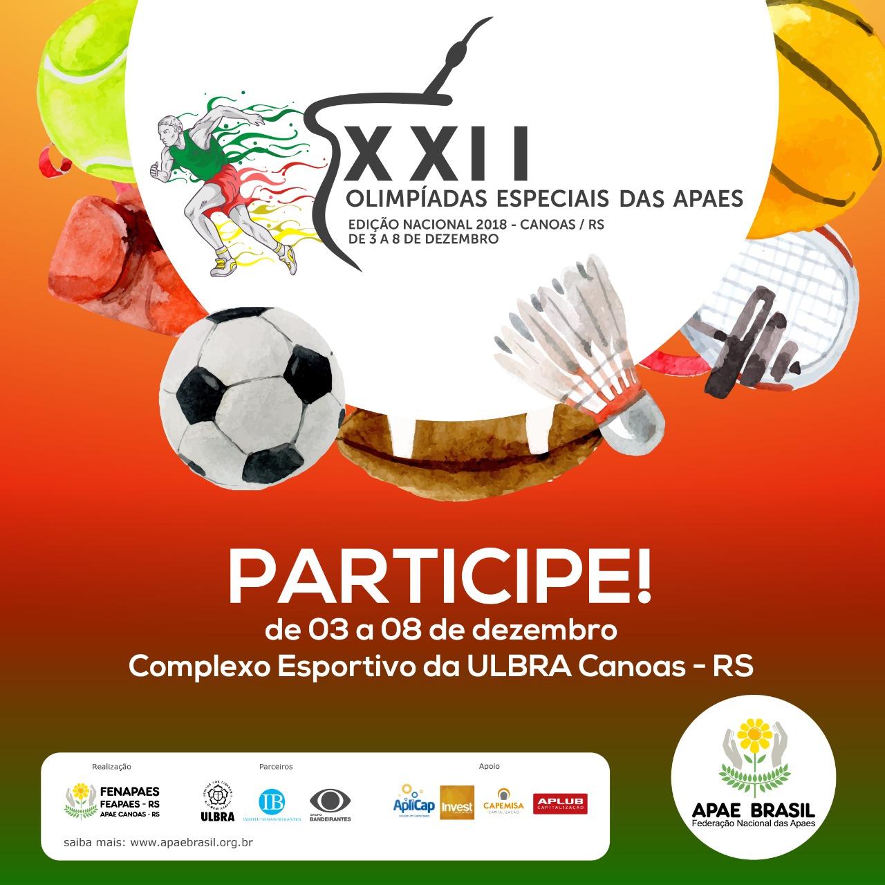 Alunos da APAE de Esperantina estão participando da XXII Olimpíadas Especiais das APAES´s
