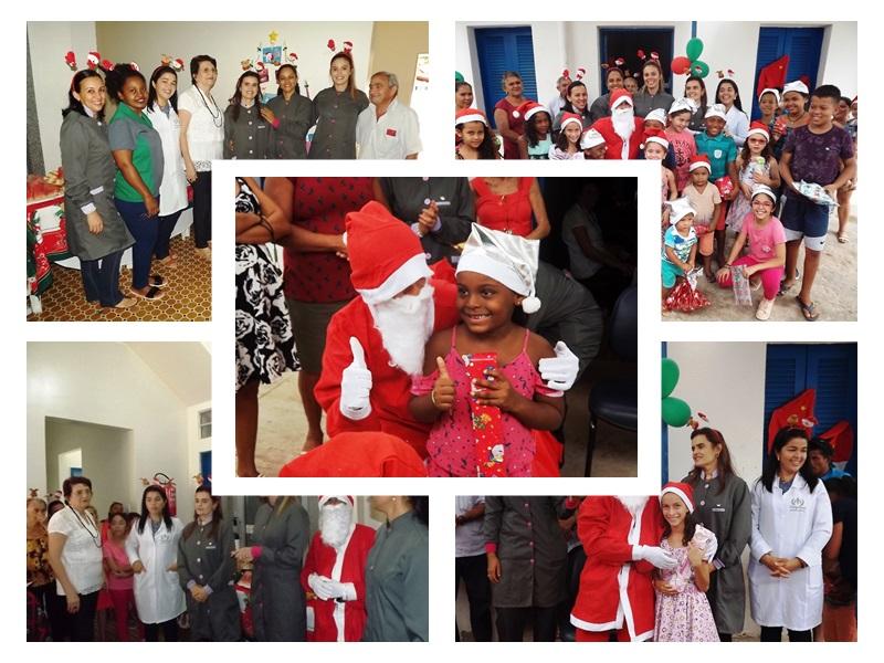 Unidade Integrada SESI/SENAI realizou confraternização natalina em Esperantina