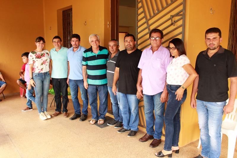 Themístocles se reúne com vice-prefeito de Morro do Chapéu e lideranças políticas