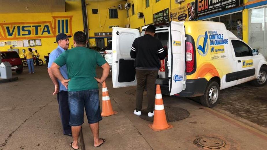 Técnico da Ipiranga aprova combustível vendido nos Postos Boa Vista
