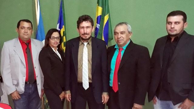 Vereador Moisés Rodrigues é eleito presidente da câmara do Morro do Chapéu – PI