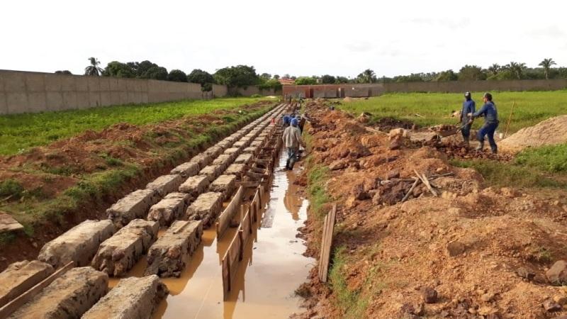 Governo do Estado retoma obras do estádio municipal em Esperantina
