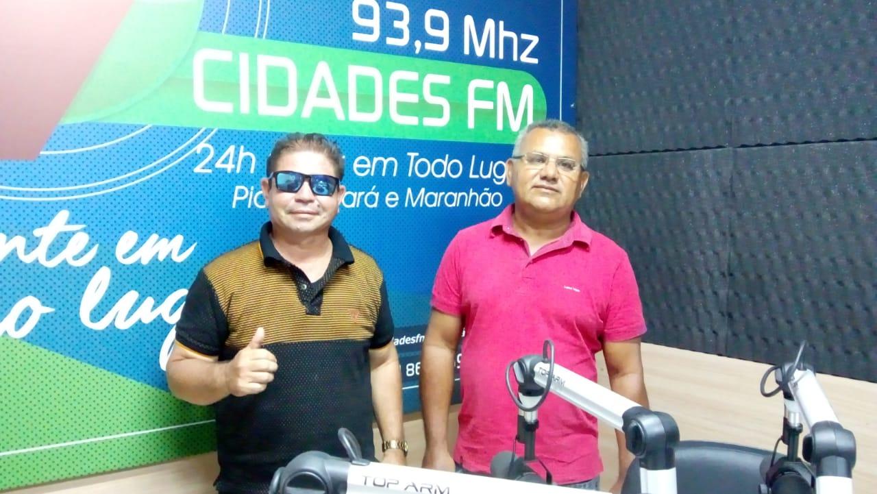 Radialistas de Esperantina estão realizando programa jornalístico na Rádio 7 Cidades FM
