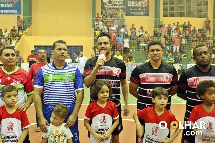 Melhor jogador de futsal do mundo, Falcão, esteve em Esperantina