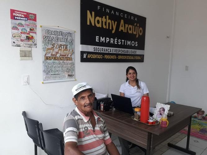 Financeira Nathy Araújo Empréstimos está funcionando em novo endereço