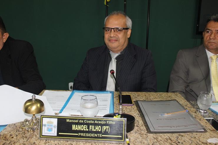 Presidente da Câmara de Esperantina anula votação que culminou na doação de veículo
