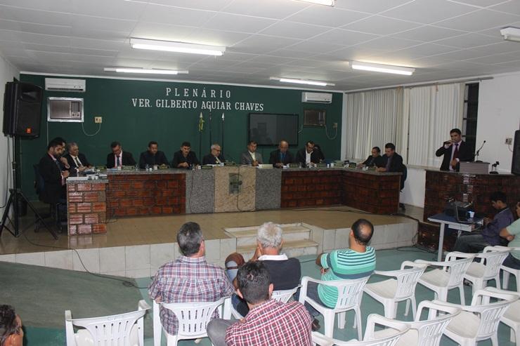 Votação de projeto na Câmara de Esperantina vai parar na justiça