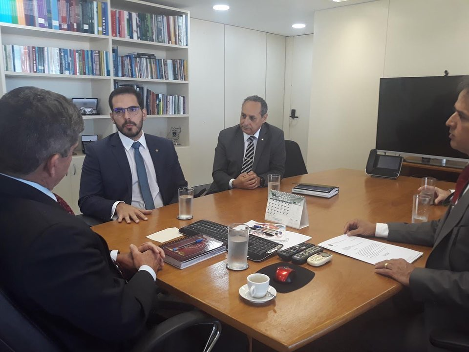Deputado Marcos Aurélio solicita equipamentos para a Polícia Civil do Piauí