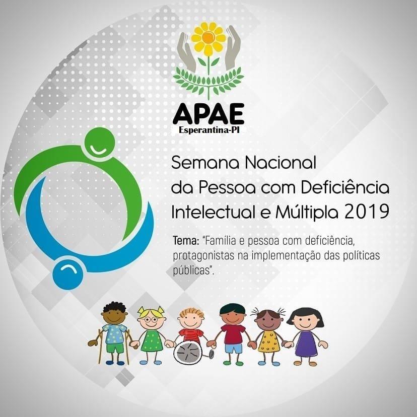 APAE de Esperantina vai celebrar a Semana Nacional da Pessoa com Deficiência