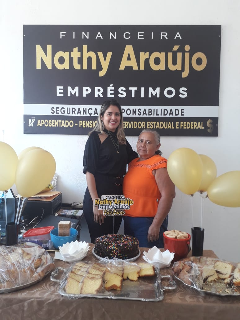 Financeira Nathy Araújo Empréstimos completa 1 ano de existência em Esperantina