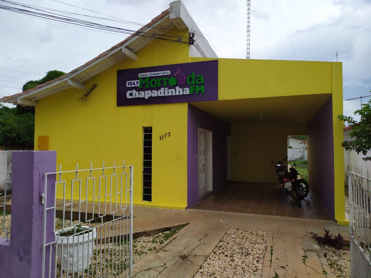 Rádio Morro da Chapadinha FM vai completar 23 anos de existência