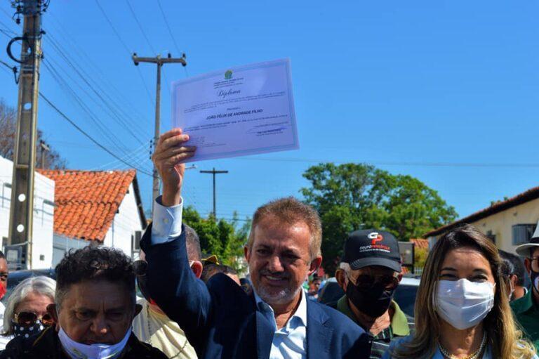 Joãozinho Félix está apto a assumir prefeitura de Campo Maior após reconsideração de juiz