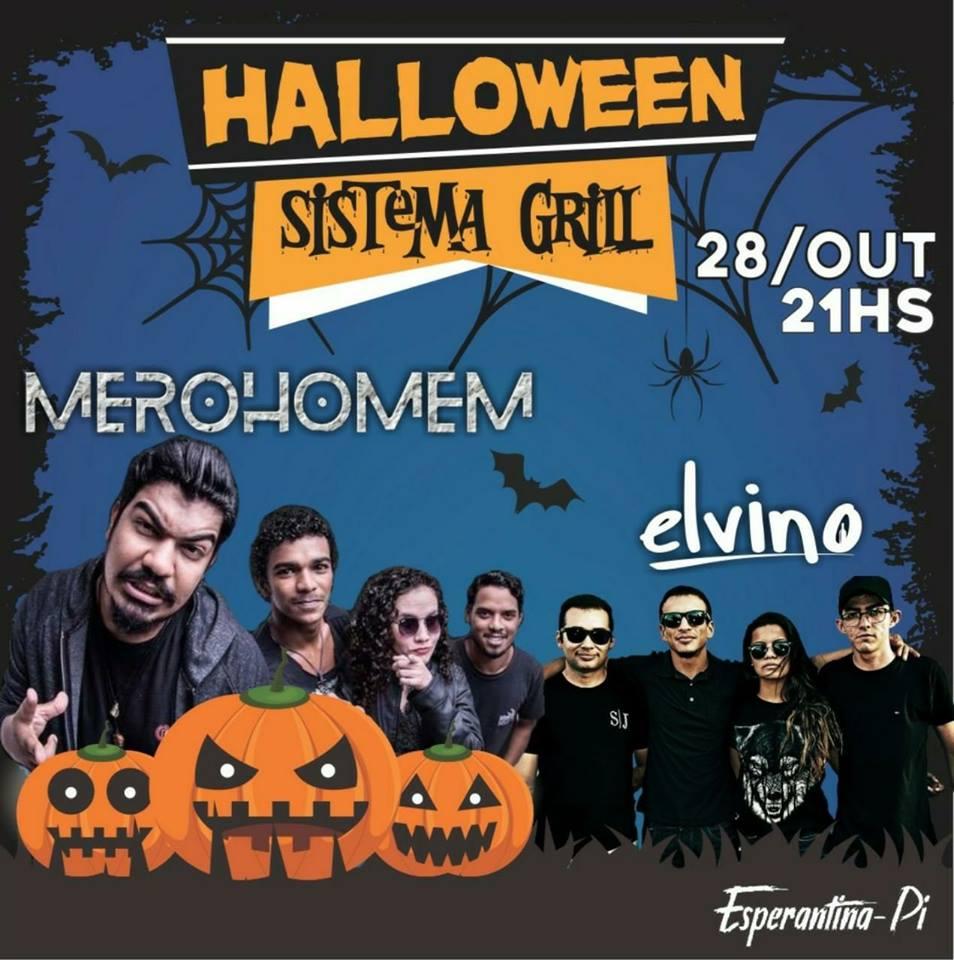 Tradicional festa de Halloween será realizada no dia 28 de outubro na Churrascaria Sistema Grill