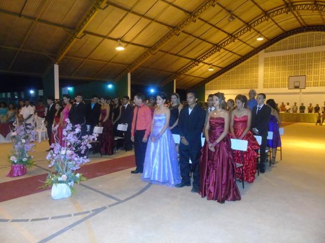 Escola Estado da Paraíba realizou Colação de grau dos alunos do ensino fundamental