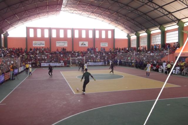 Confira os resultados dos jogos de abertura da XIV edição da Copa Norte de Futsal