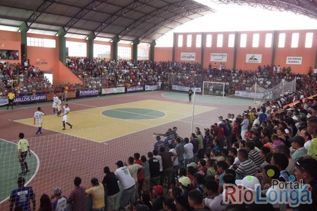 Vai começar a XIV Copa Norte de Futsal