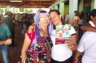 Festa dos Idosos foi bastante prestigiada no Clube Recreativo em Esperantina