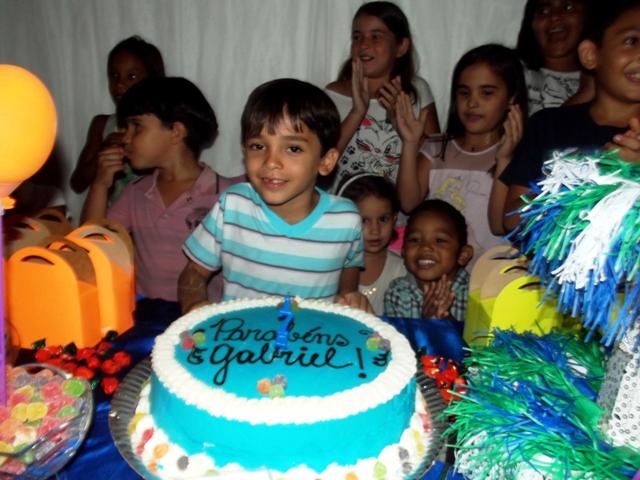 Cobertura aniversário 7 anos Gabriel Ribeiro