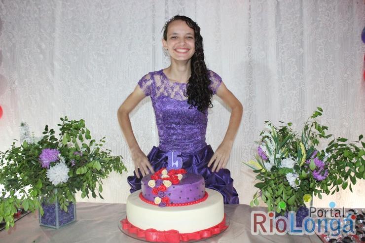 Cobertura do aniversário de 15 anos da simpática Natanyelle Sousa