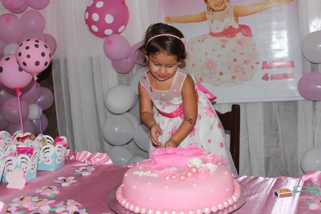 Cobertura: Aniversário de 4 anos Adelia Sampaio