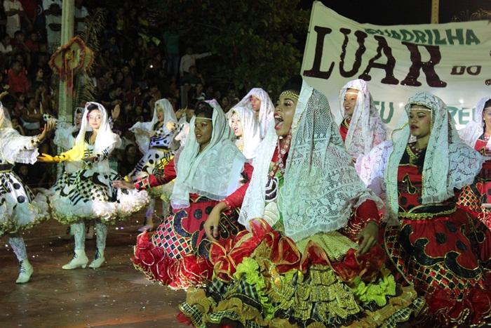 Quadrilha Junina Luar do Sertão vence o XXV Festival de Folguedos de Esperantina
