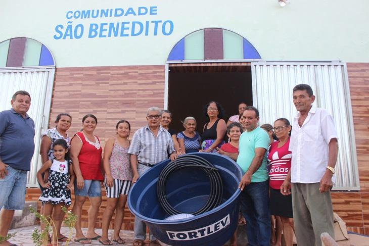Presidente da Assembleia continua viabilizando entrega de kits de irrigação para associações de moradores