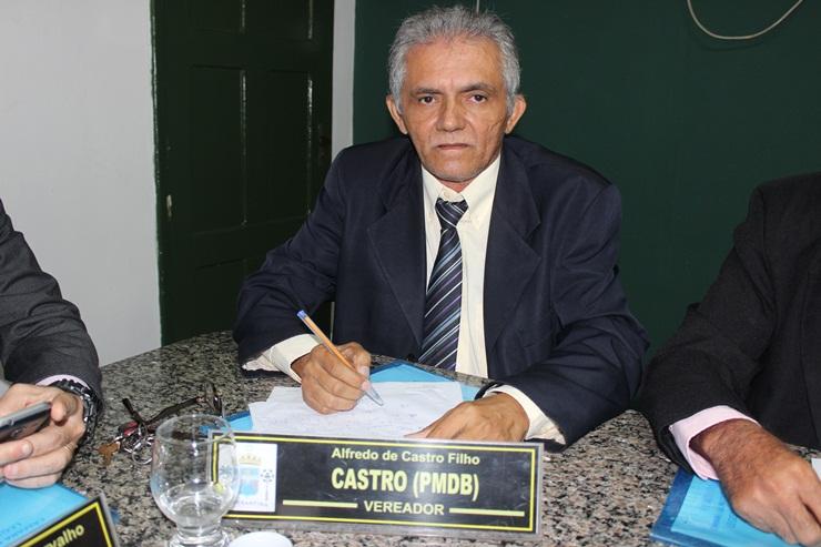 Vereador Castro apresenta projeto que institui normas para declaração de utilidade pública