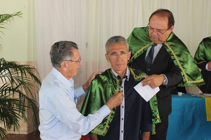 Escritor Elias Júnior tomou posse na Academia de Letras do Vale do Longá