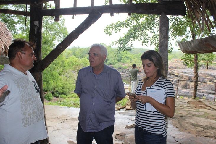 Deputado Themístocles Filho está viabilizando a reforma da infraestrutura do Parque Cachoeira do Urubu