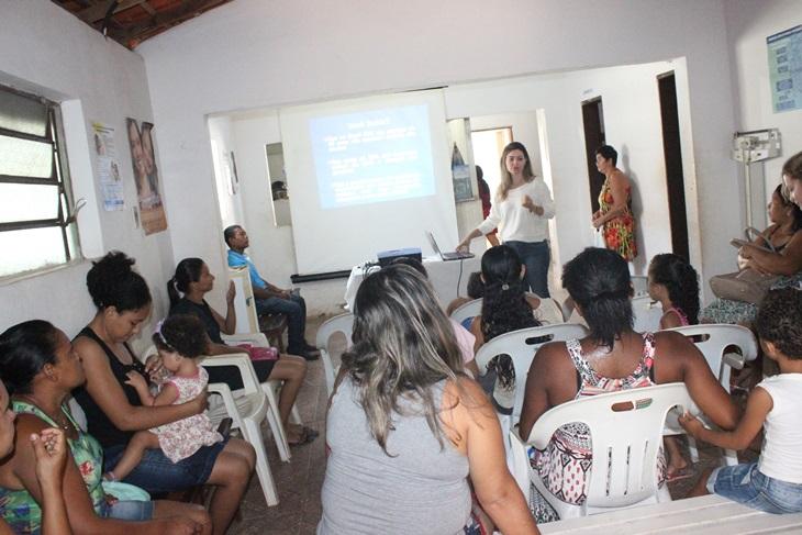 Equipe do PSF Bairro Nova Esperança realiza palestra sobre prevenção na odontologia