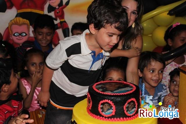 Cobertura do Aniversário de Regys Filho