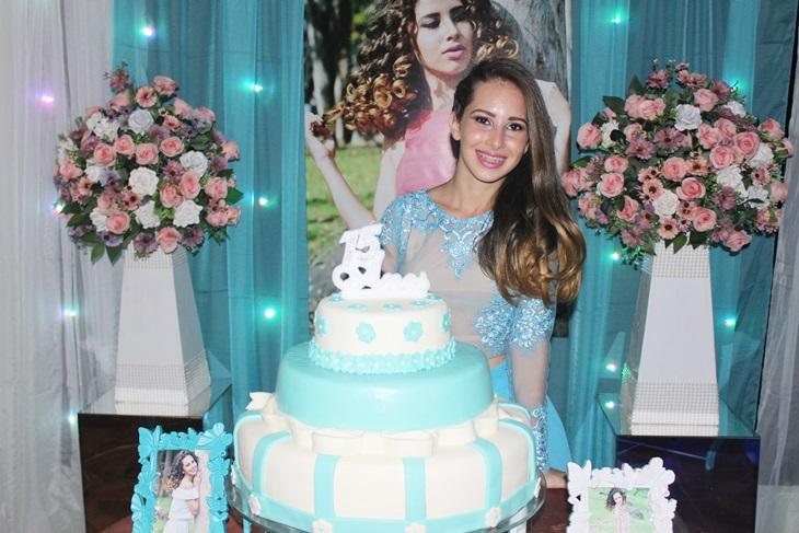 Cobertura do aniversário de 15 anos da simpática Áryna Leal
