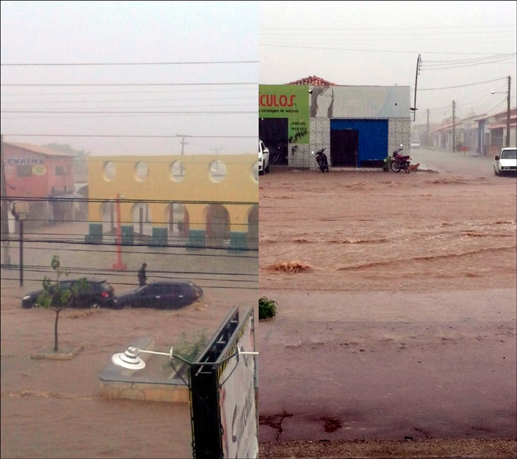 Chuva que caiu sobre Esperantina foi a maior dos últimos anos