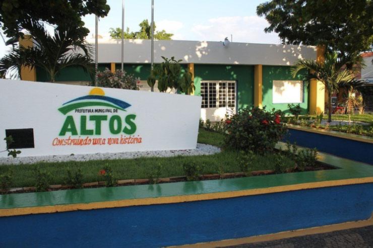 Prefeitura de Altos (PI) abre concurso público com salários de até R$ 4,5 mil