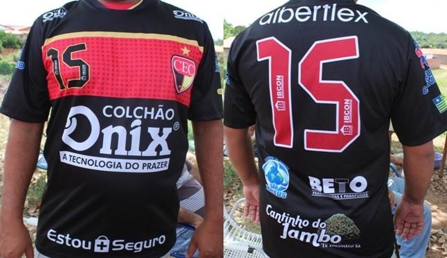 Cajuína Esporte Clube apresentou seu novo uniforme