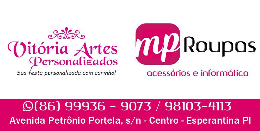 Loja Vitória Artes está atendendo em novo endereço em Esperantina