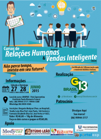 A G13 Brasil Cursos está de volta a Esperantina com novos cursos de Qualificação Profissional.