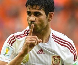 Diego Costa, brasileiro na Espanha, vaiado, manda torcida calar a boca
