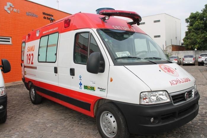 Ministério da Saúde vai doar uma ambulância para o SAMU de Esperantina