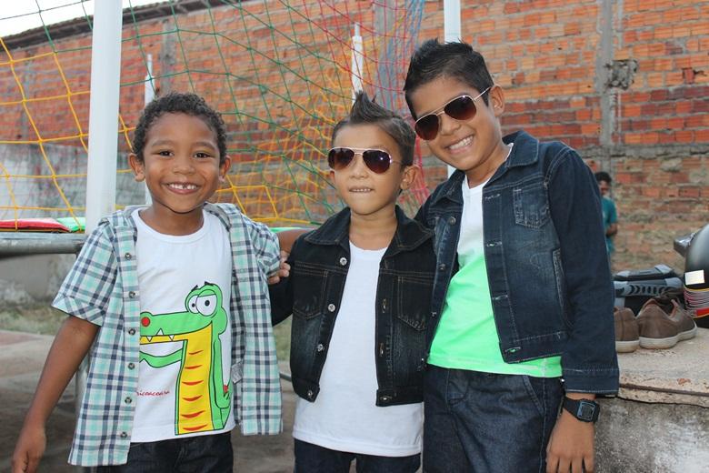 Cobertura da Festa das Crianças do Colégio Arco Íris em Esperantina