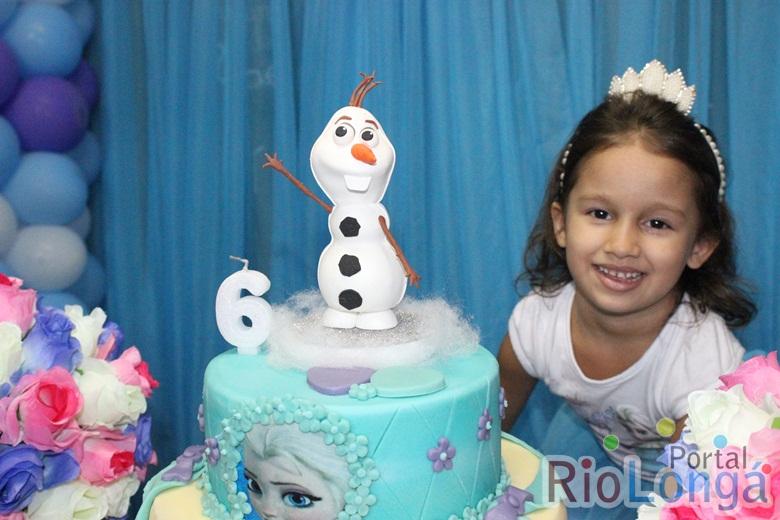 Cobertura do aniversário de 6 anos da Adélia Sampaio