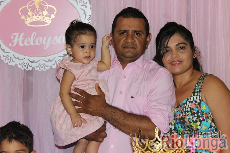 Cobertura do Aniversário de 1 ano da Heloysa Amorim Borges