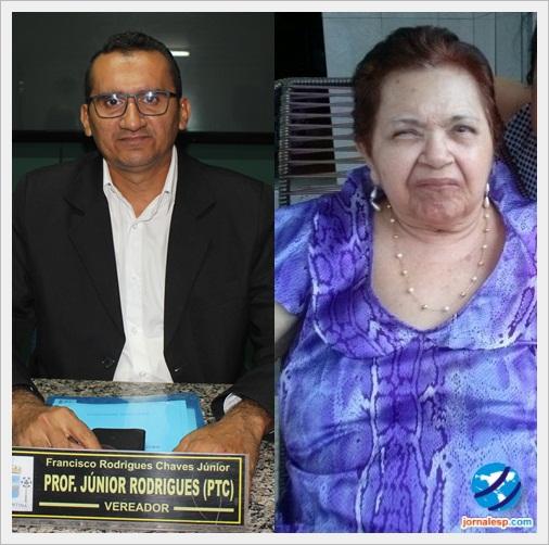 Vereador Junior Rodrigues homenageia a saudosa Dona Carmelita Braga