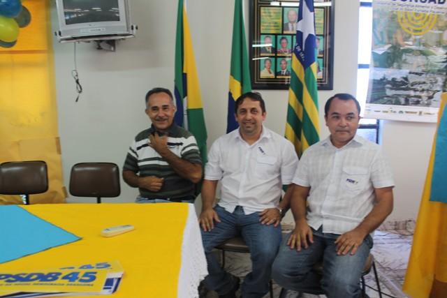 Lideranças políticas de Esperantina prestigiaram a Convenção do PSDB em Batalha