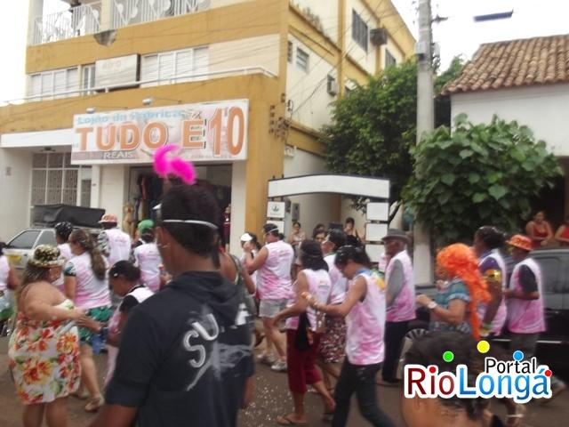 Grupo da Melhor Idade e Pro Jovem fazem a abertura oficial do Carnaval de Esperantina