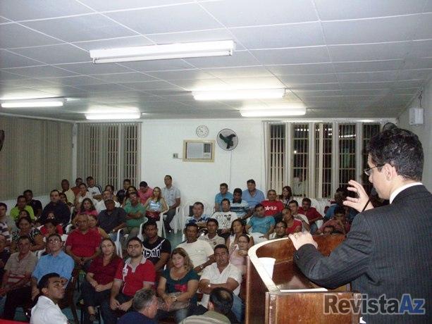 Palestra sobre Legislação Eleitoral é ministrada em Esperantina